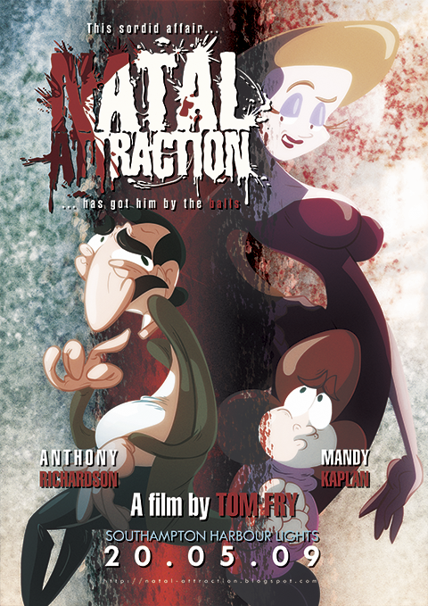 Natal Attraction by Tom Fry - Starring Anthony Richardson & Mandy Kaplan