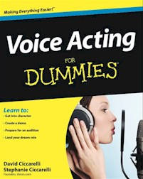 Voice Acting For Dummies Cover